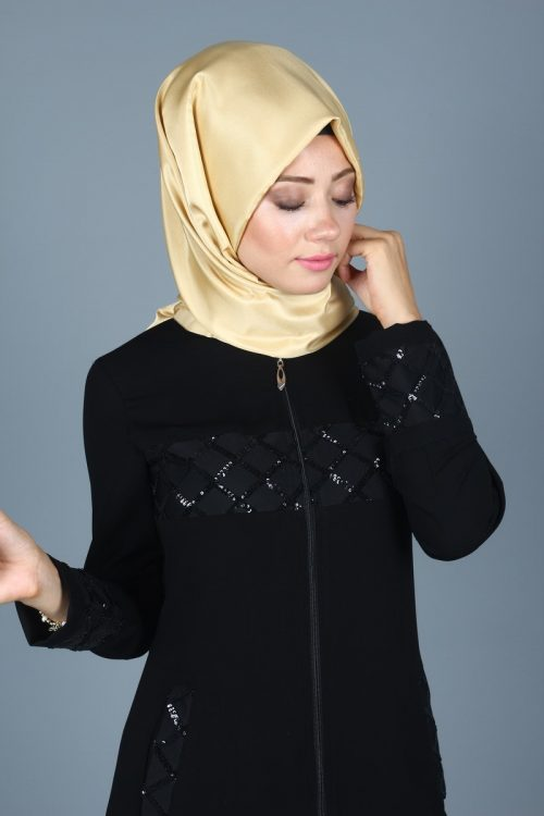 Eva Patterned Hijab Ferace 4522 -4
